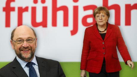 Bei den Wahlen im Saarland musste die SPD eine herbe Enttäuschung wegstecken. Eine Vorentscheidung für die Bundestagswahl ist dies jedoch nicht. Wie eine INSA-Umfrage im Auftrag von RT Deutsch zeigt, liegt SPD-Herausforderer Martin Schulz gegen Kanzlerin Angela Merkel gut im Rennen.