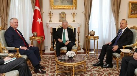 US-Außenminister Tillerson: Die Türkei ist der Schlüsselpartner der USA im Kampf gegen IS