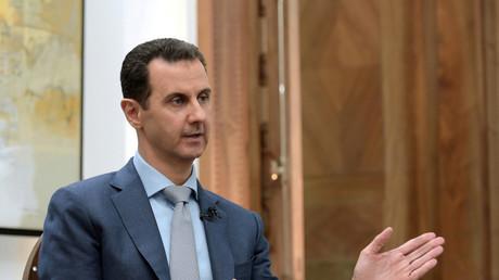 Der syrische Präsident Bashar al-Assad im Interview mit