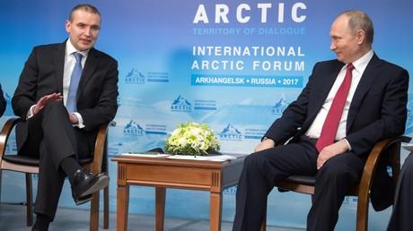"""Wladimir Putin bietet Island """"Hilfe"""" bei Gründung der Armee an"""