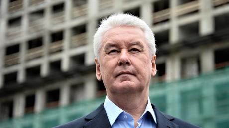 Moskaus Bürgermeister Sergej Sobjanin.