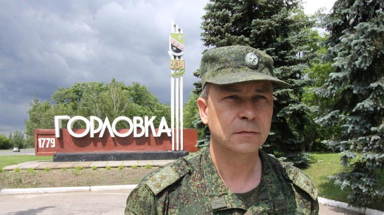 """Interview mit Eduard Basurin: """"Wir sind bereit zu sterben, die ukrainischen Soldaten nicht"""""""