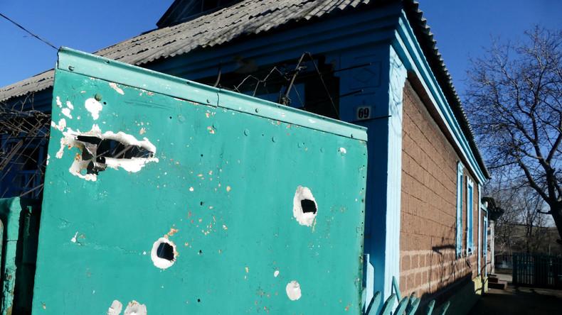 Ukrainische Konfliktparteien berichten von Verletzungen des Waffenstillstands im Donbass