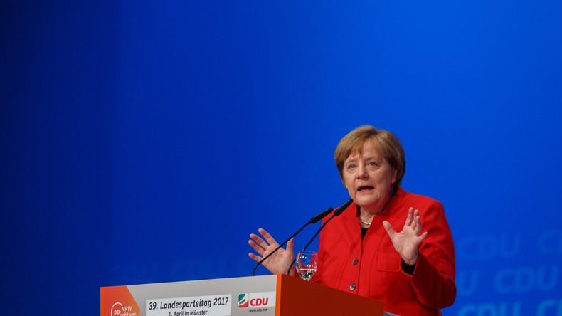 Angela Merkel wirft SPD veralteten Begriff von Gerechtigkeit vor