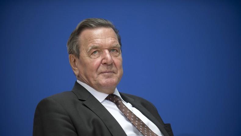 Gerhard Schröder hält Rot-Rot-Grün für nicht machbar