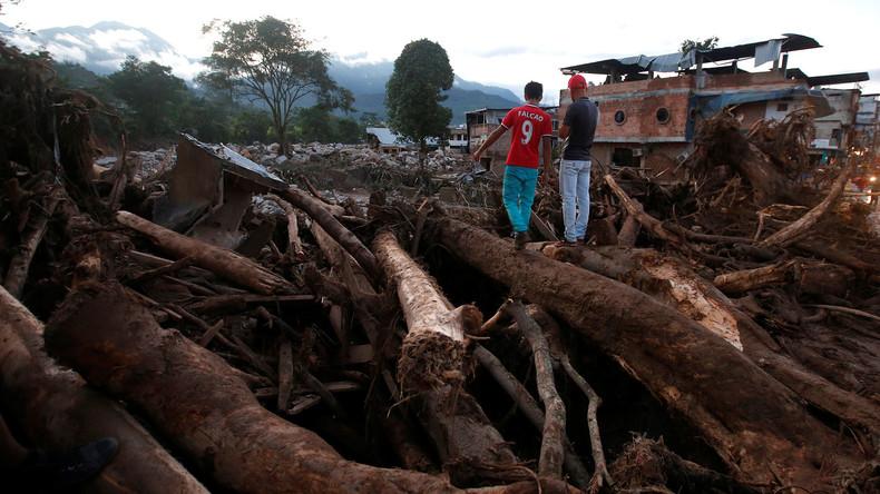 Viele Tote bei Unwetterkatastrophe in Kolumbien