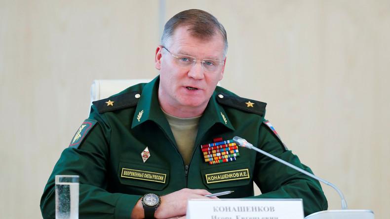 Russlands Verteidigungsministerium kritisiert westliche Militäroperation in Mossul