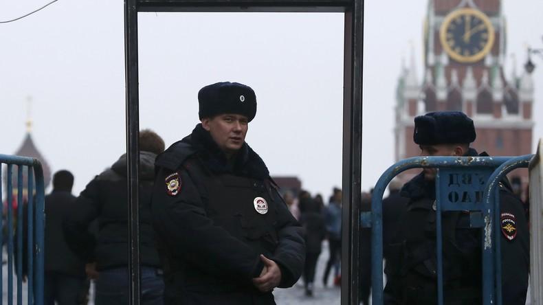 Moskauer Polizei verschärft Sicherheitsvorkehrungen wegen angekündigter Demos