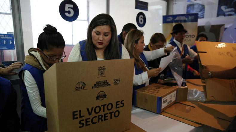 Ecuador wählt Präsident in Stichwahl