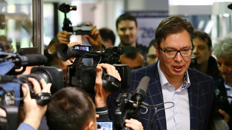 Alexander Vucic siegt deutlich bei Präsidentschaftswahl in Serbien