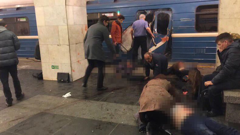 Explosion in U-Bahn in Sankt Petersburg: 14 Tote und 51 Verletzte - Liveticker