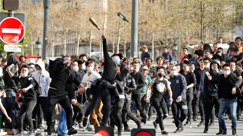Weitere gewaltsame Proteste in Paris gegen Polizeibrutalität