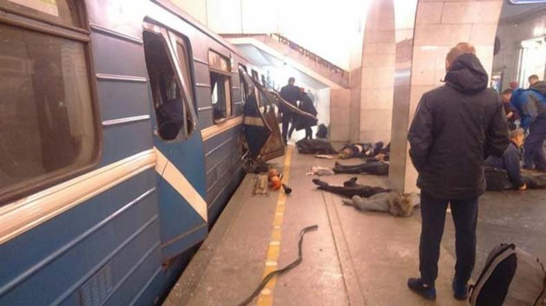 Rekonstruktion und Zeugenberichte: Neun Tote bei Explosion in St. Petersburger Metro