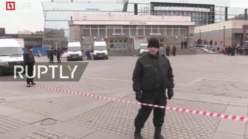 Live aus Sankt Petersburg nach Terroranschlag in U-Bahn mit mindestens zehn Toten