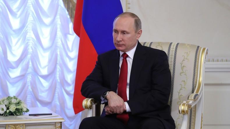 Präsident Wladimir Putin äußert sich zur Explosion in der St. Petersburger U-Bahn
