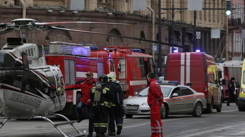 Explosion von Sprengsatz in Metro von St. Petersburg: Was über die Terrortat bisher bekannt ist