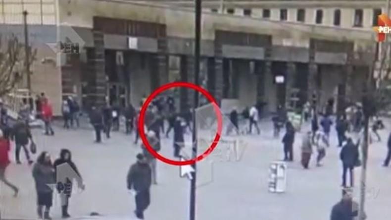 Erstes Video des mutmaßlichen Attentäters von Sankt Petersburg veröffentlicht