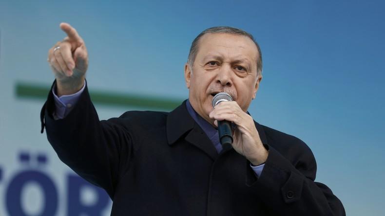 Erdogan kündigt neue Anti-Terror-Einsätze in der Türkei an