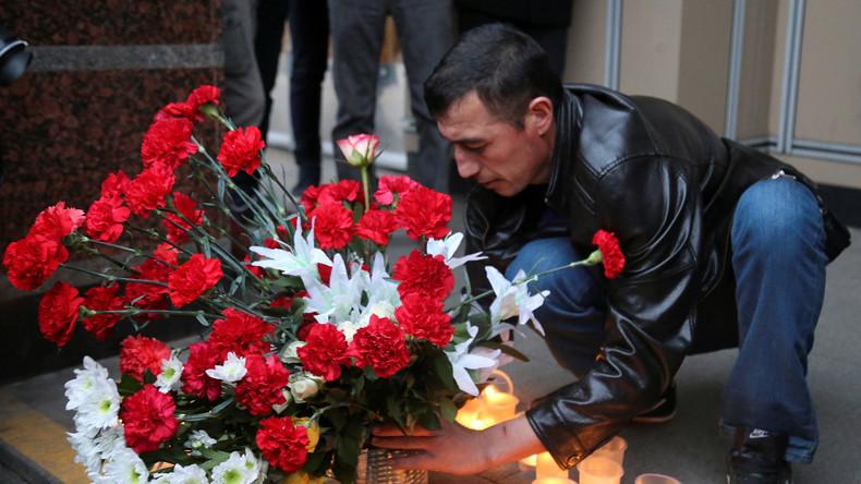 Internationale Berichterstattungen und Beileidsbekundungen zum Attentat in Sankt Petersburg