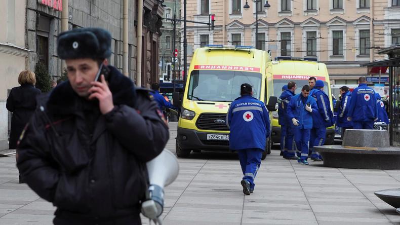 Zwei Tatverdächtige nach U-Bahn-Terror in Sankt Petersburg zur Fahndung ausgeschrieben