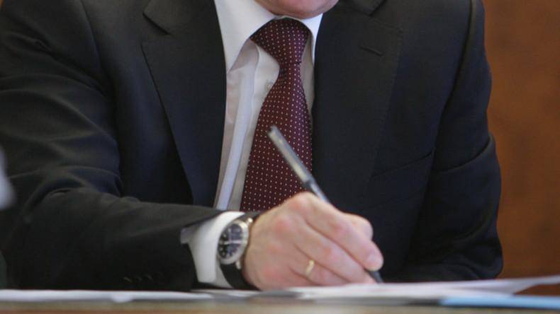 Wladimir Putin verhängt Verbot für Bargeldtransfer in die Ukraine durch ausländische Anbieter