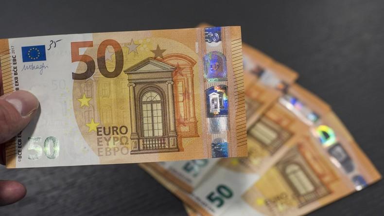 Neue 50-Euro-Banknote kommt in Umlauf