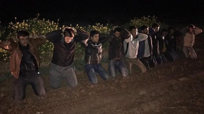 Tschetschene mit Sprengstoff und Granaten an syrisch-türkischer Grenze festgenommen