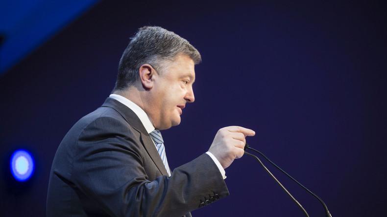 Wegen Entsendung von Julia Samoilowa: Petro Poroschenko wirft Russland Provokation vor