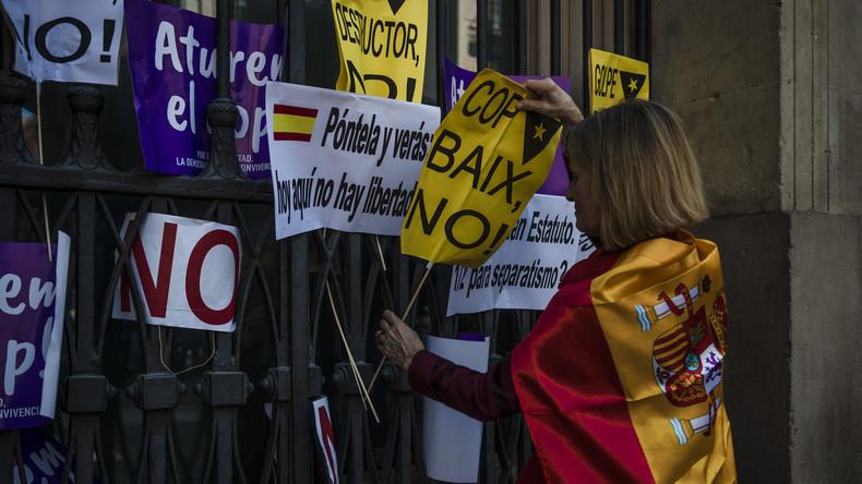 Spanien blockiert Haushalt für katalanisches Referendum
