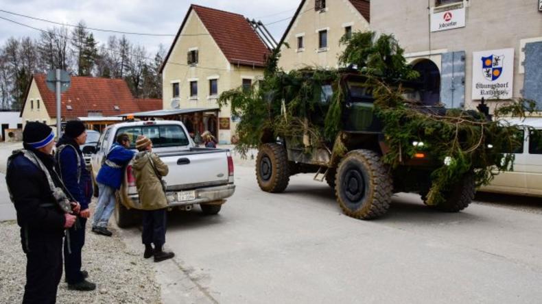 NATO: 3.000 Soldaten und Spezialeinheiten trainieren Krieg in Bayern unter US-Anleitung