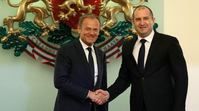 EU-Ratspräsident Tusk: Balkan-Migrationsrouten bleiben geschlossen, EU hält an Türkei-Pakt fest