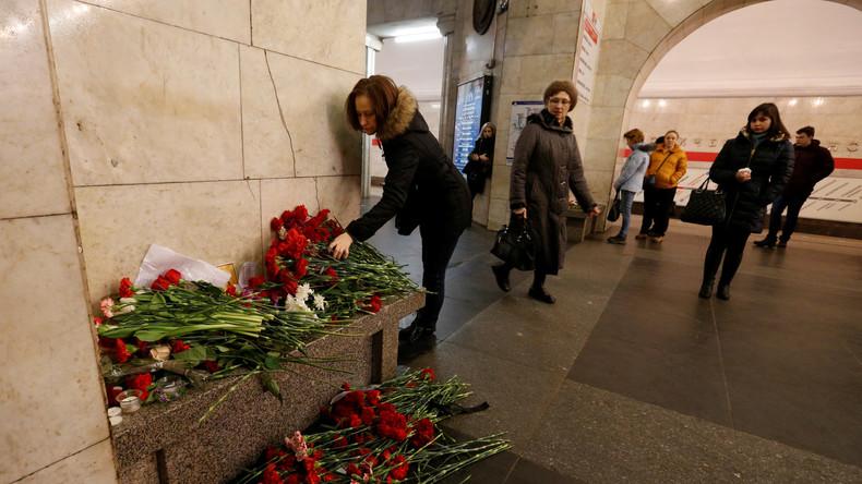 Nach dem Anschlag von St. Petersburg: Internationale Solidarität und False Flag-Vorwürfe