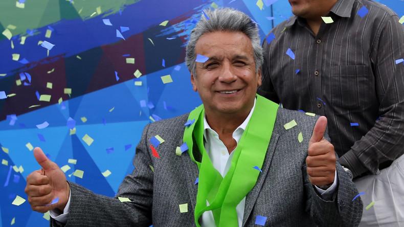 Lenin Moreno siegt bei Präsidentschaftswahlen in Ecuador