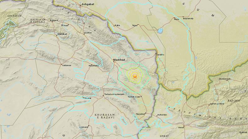 Iran: Erdbeben der Stärke 6,1 nahe Mashhad