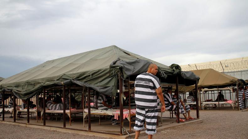 """""""Dieser Zirkus hat nun ein Ende"""" - Berüchtigtes US-Gefängnis """"Tent City"""" soll schließen"""