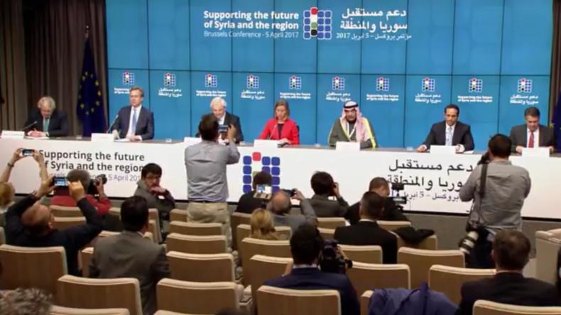 Live: Pressekonferenz in Brüssel - EU-Vertreter beraten mit Katar und Kuwait über Syriens Zukunft