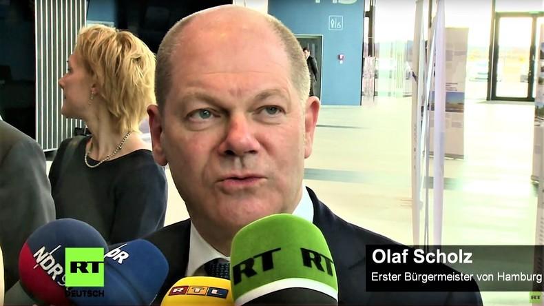 """""""Globalisierung betrifft Russland und Deutschland"""" - Olaf Scholz (SPD) in St. Petersburg"""
