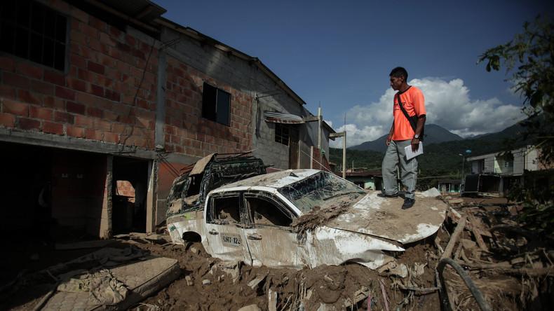 Schlammlawine in Kolumbien: Zahl der Todesopfer auf über 300 gestiegen
