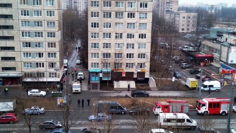Bombe in Sankt Petersburger Wohnhaus entschärft