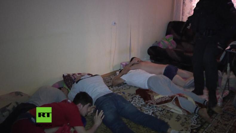 Sankt Petersburg: Mutmaßliche Rekrutierer des IS und der Al-Nusra Front verhaftet