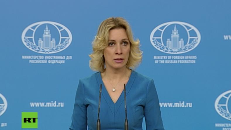Sacharowa: Reaktionen aus dem Westen zu St. Petersburg offenbaren niveaulose Doppelstandards