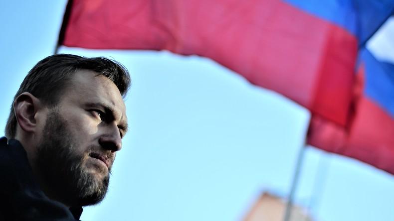 Alexej Nawalny in Moskau