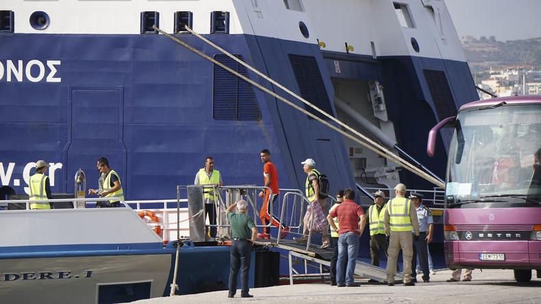 Griechenland bleibt dem EU-Migrationsabkommen mit Türkei treu und schiebt Flüchtlinge erneut ab