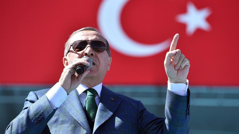 Erdogan bereit US-Militäroperation in Syrien zu unterstützen