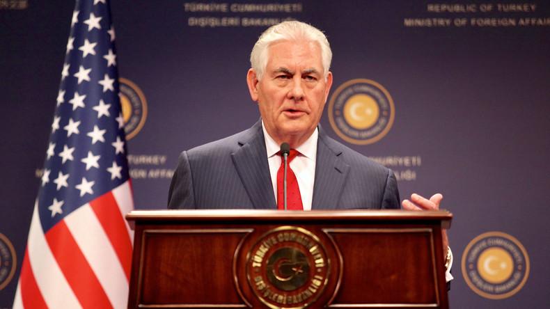 Rex Tillerson plädiert für Absetzung von Assad nach Giftgasangriff in Idlib