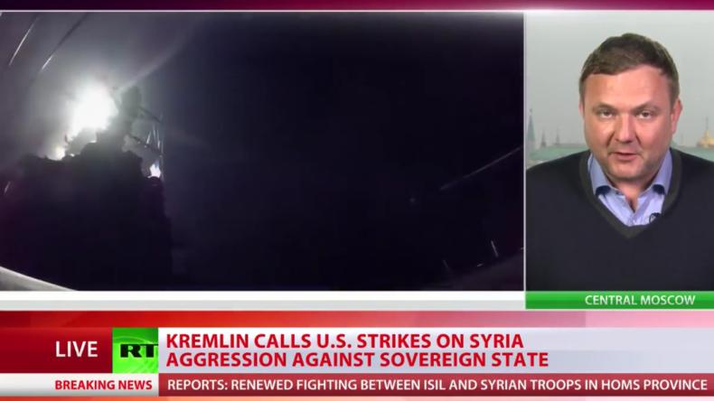 Live-Berichterstattung von RT: Eskalation in Syrien - USA beginnen Angriffe auf Syrische Armee