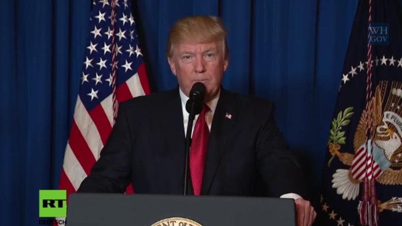Donald Trump ruft Verbündete auf, sich dem Sturz von Assad anzuschließen