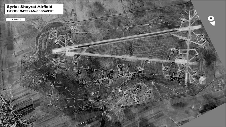 US-Angriff auf syrische Militärbasis: Was bisher bekannt ist