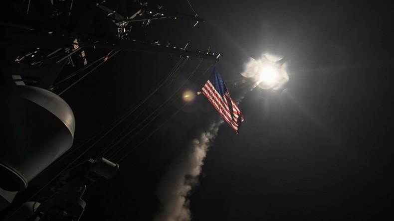 Syrische Luftwaffenbasis al-Schairat nach dem US-Angriff