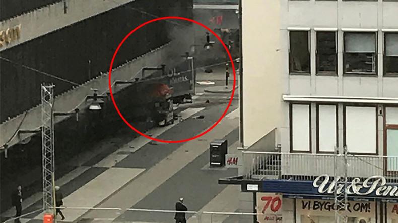 Liveberichterstattung zum mutmaßlichen LKW-Anschlag in Stockholm
